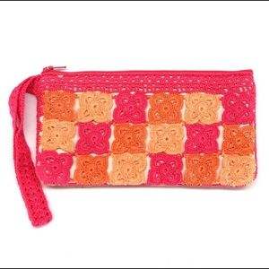 Handbags - Curator's Collection: Raja Wristlet Peach/PinkNWOT